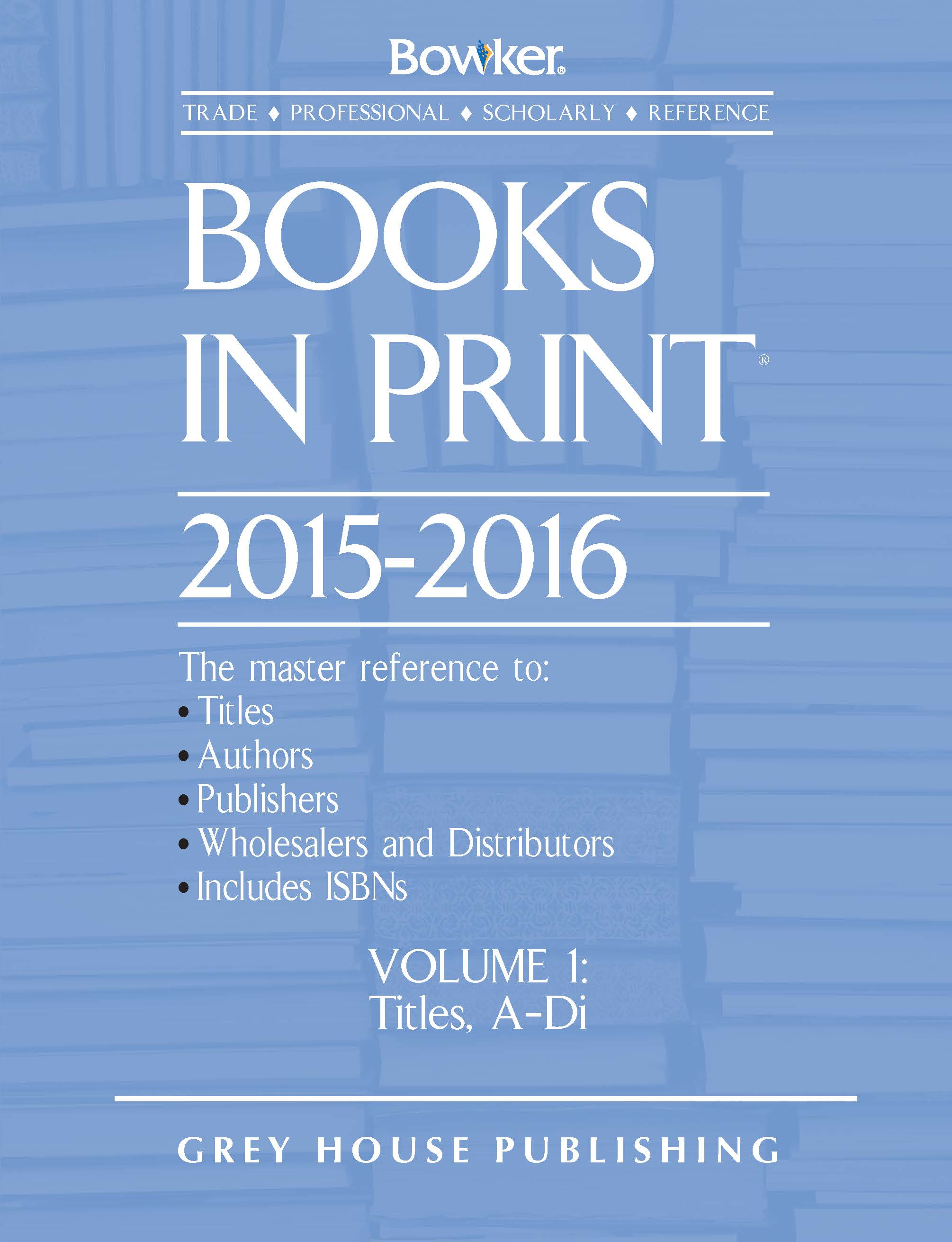 Bowker Books in Print