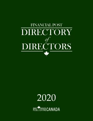 Financial Post Directory of Directors