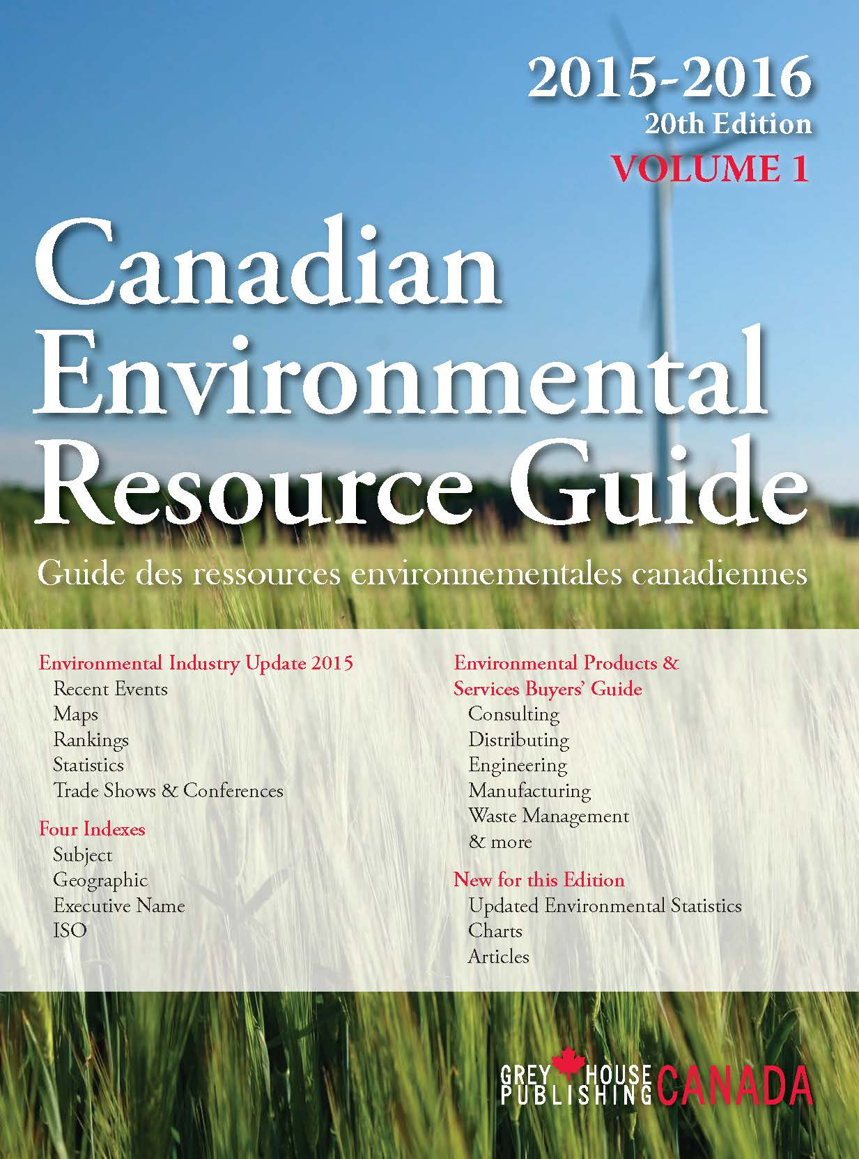 Canadian Environmental Resource Guide