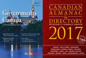 Governments Canada & Almanac